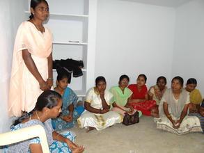 Staff Meeting at Prashant Nagar Colony Center