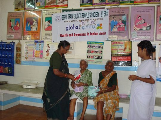 Distribution of Medicines to LF patients