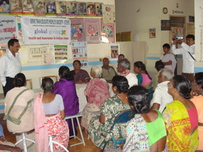 Dr P Subba Reddy USA addressing the LF patients