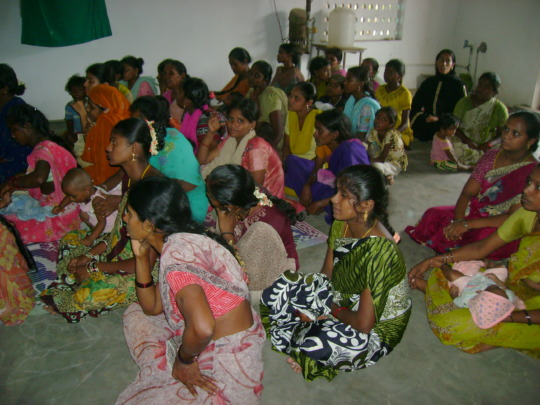 Awareness camp for mothers