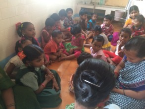 Children in health camp