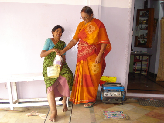 A .Parvathamma LF patient with medicines