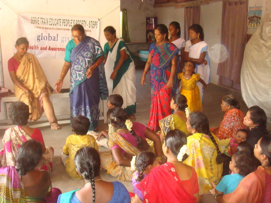 Filariasis disease awareness to slum people