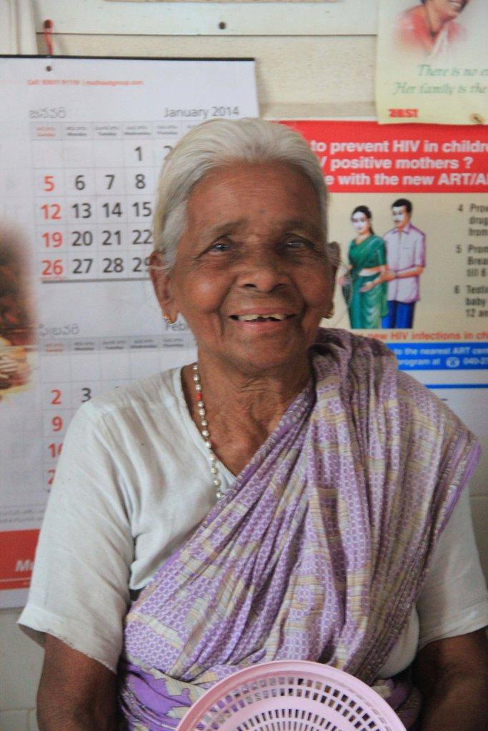 G Venkatamma, Filariasis patient