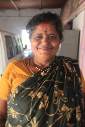 Mrs. P.Ramalakshmamma Filariasis patient