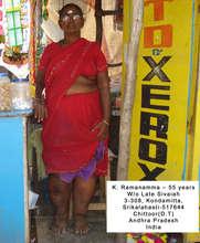 Mrs.K. Ramanamma  LF patient