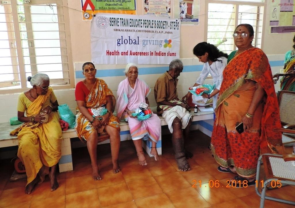 Medicines distribution to beneficiaries