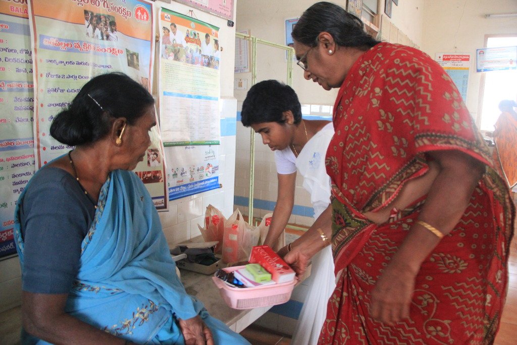 Distribution of nutritional kits