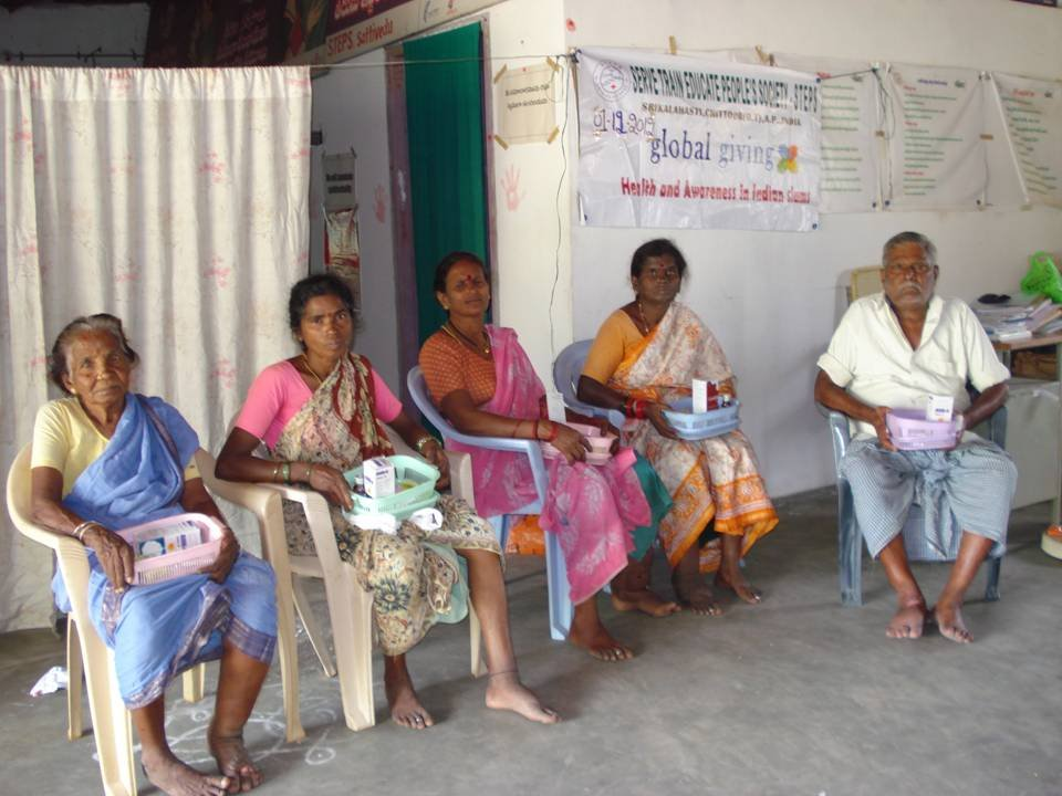 Filariasis  patients with Medicines