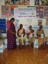 Examination of Filariasis patients in Hospital