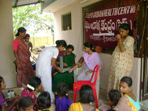 Health Camp in Slum