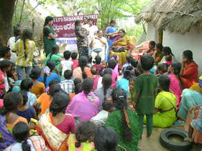 Health Awareness Camp in slum