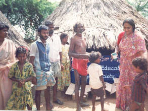 Helath Camp in Slum