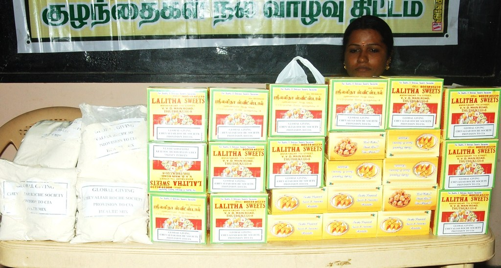 Health mix and sweet boxes to be distributed