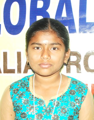 Sindhu, A HIV infected child.