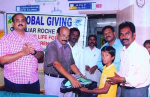 Medical Officer gave educational aid to CLHA