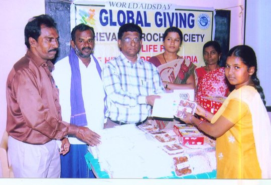 Give life for 55 HIV children in Tamilnadu, India