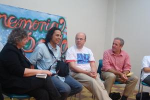 Meeting with young leaders - Reunido con jovenes