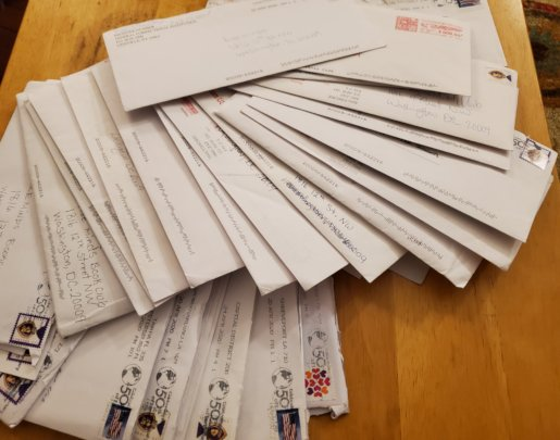 Letters from FM members in prison