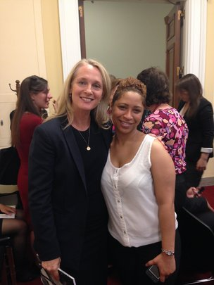 With Orange is the New Black author Piper Kerman