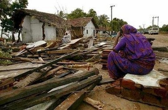 Provide shelter and clean water in Sri Lanka