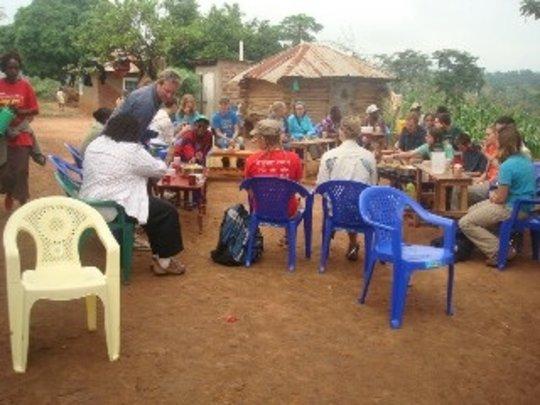 Meeting Over Chai Tea and Chapatis