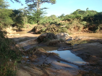 Waani River After The Rains...