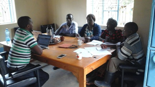 DNRC meeting during project planning