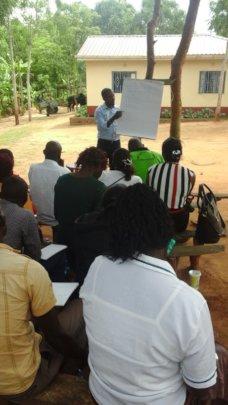 farmers training session
