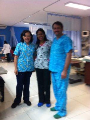 Nurse Ana Rosa in ICU