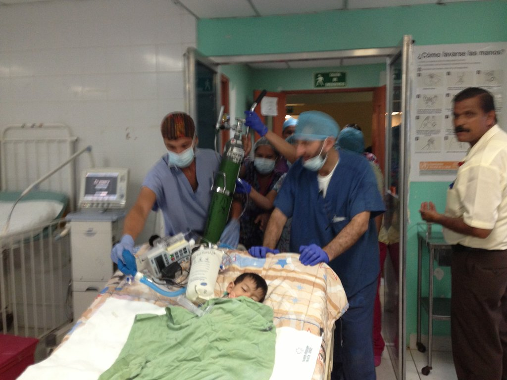 Emerging from Surgery with the Team