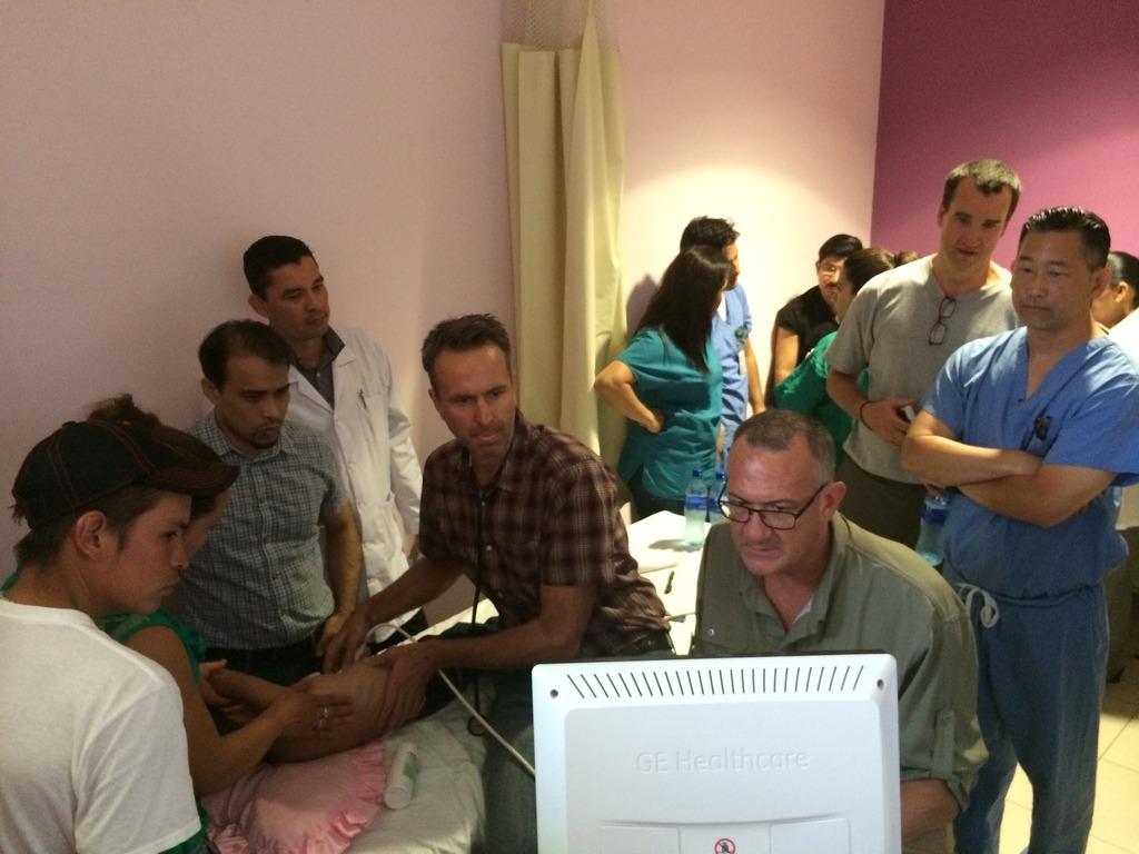 Diagnostic Scanning of Little Patient
