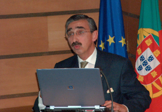 Dr. Fragata Presenting a Training Lecture