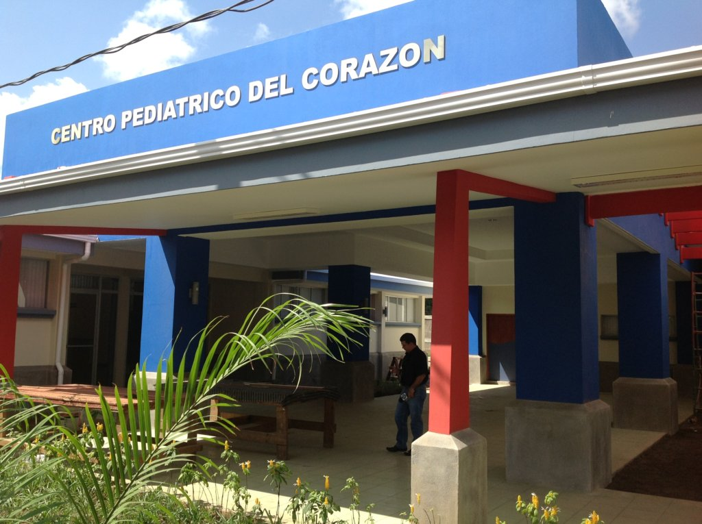 The new Pediatric Heart Center of Nicaragua