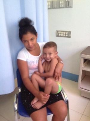 Kener's mother places trust in the doctors