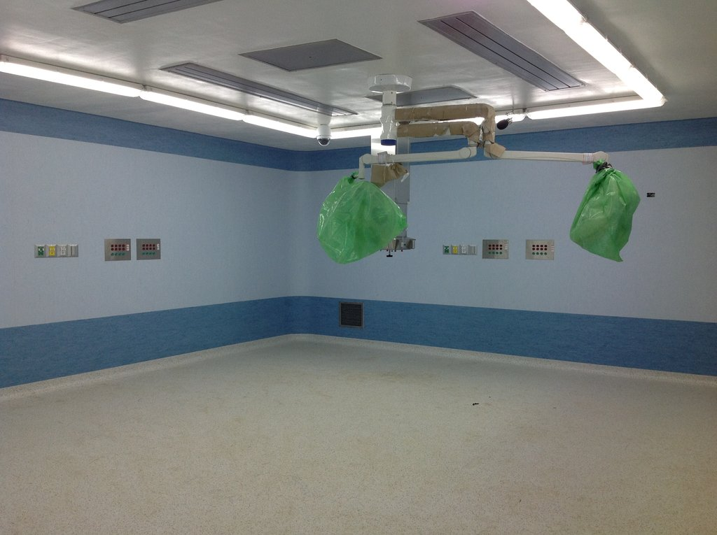 New Operating Room Ready for Equipment