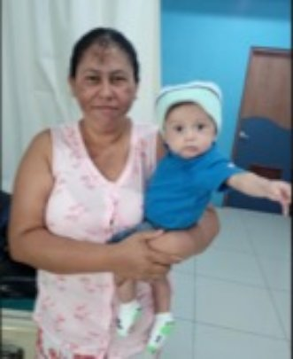 From Matagalpa, months-old baby recovered well.