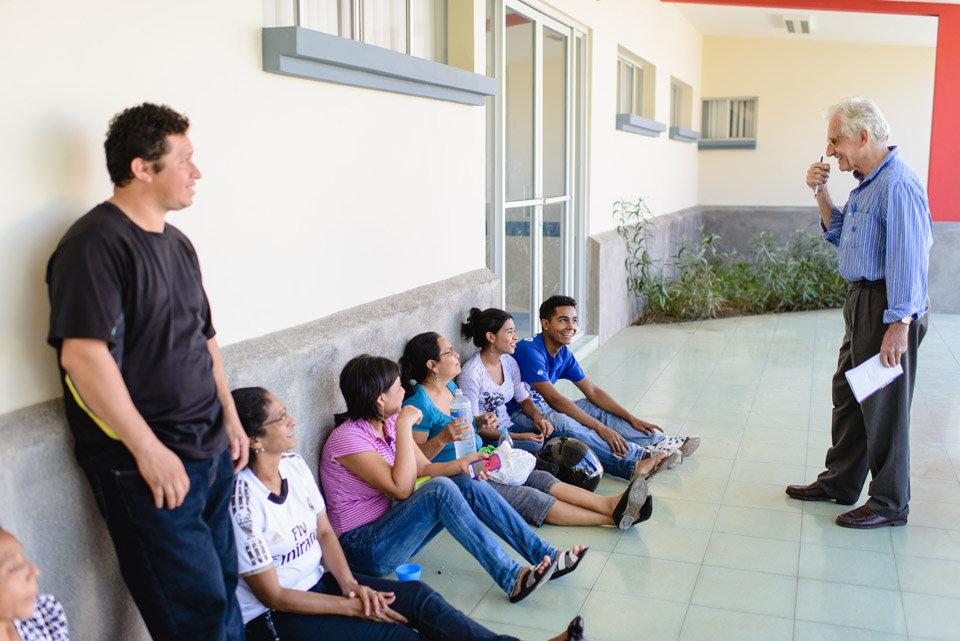 Philippe Lerch Speaking with Children