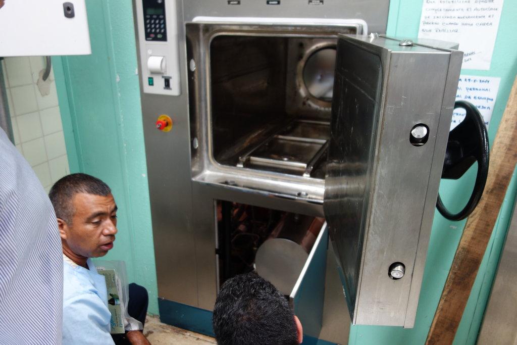 Expensive Sterilizer Equipment Installed