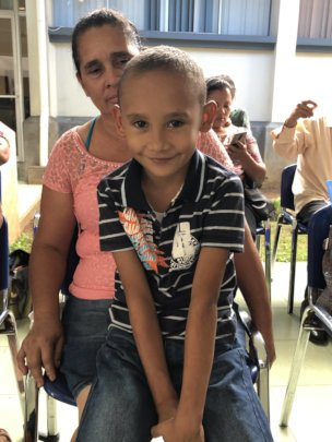 Yamil, 8, has a healed heart and can go to school