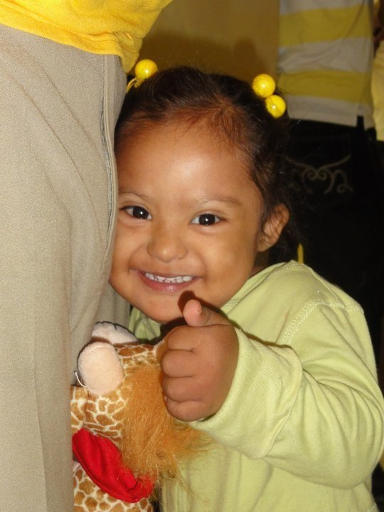 Thumbs up to our donors who save the lives of hundreds of indigent children in Latin America and bring hope to them and their families. This little girl?s smile is for all of you who, like us, believe that children should not be denied life-saving cardiac surgery?under any circumstances.