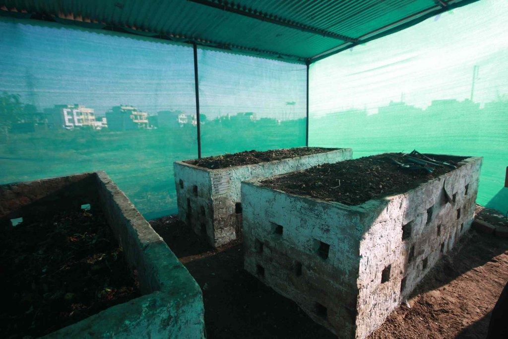 Compost unit, Indore