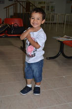Matias always with a big heart and a big smile!