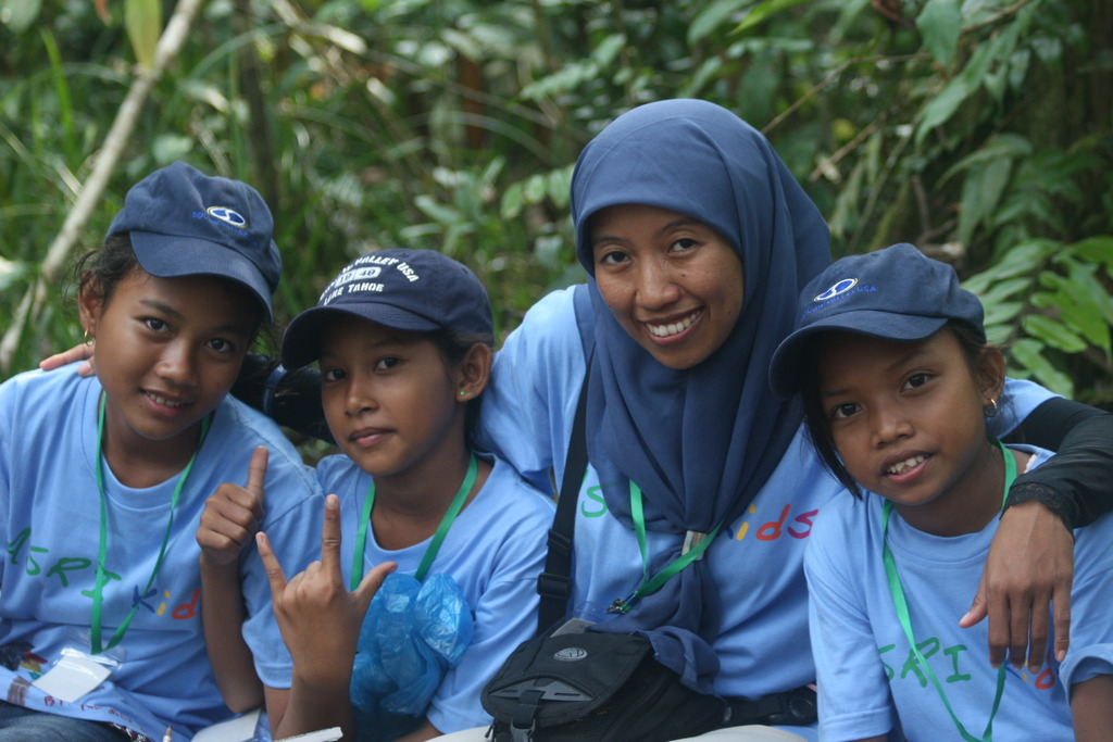 ASRI Kids in the national forest
