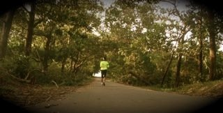 Dr. Hotlin Ompusunggu training for the marathon