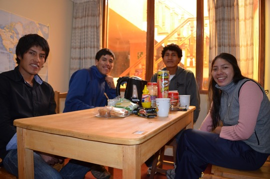 Left to Right: Rolando, Ebhert, Adrienne & Elvira
