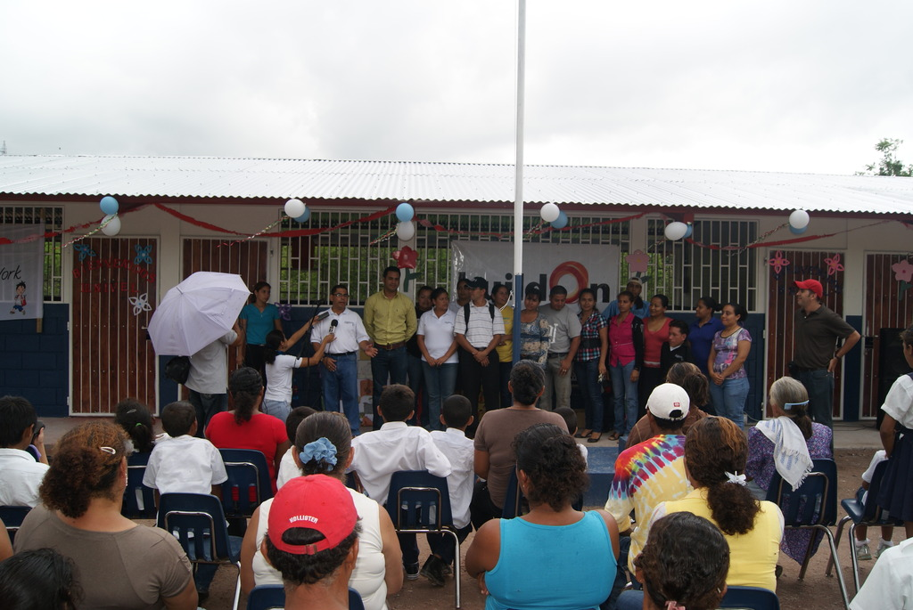 Inauguration of New School in Esteli!