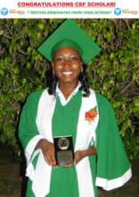 CEF Top Scholar, Trevisa at High School Graduation