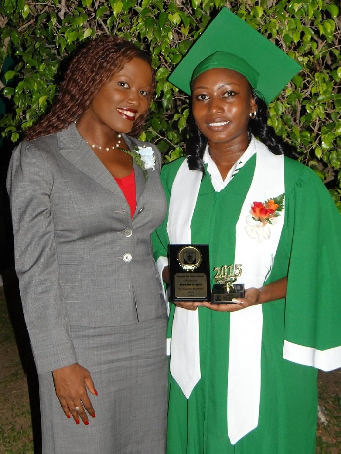 CEF CEO Nikiki Bogle and Trevisa at her Graduation