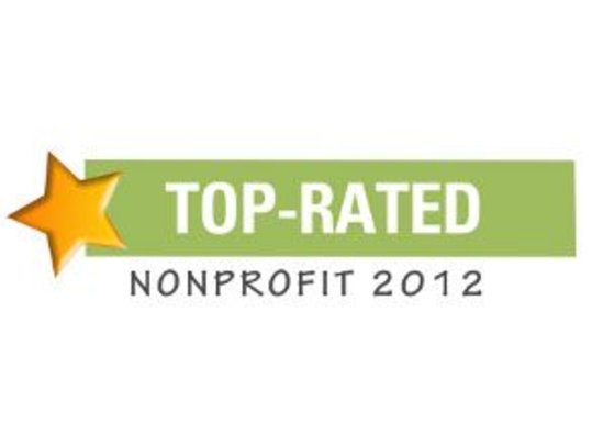 CEF receives TOP RATED 2012 NONPROFIT AWARD